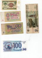 Lot 9 Billets Russie - Russland