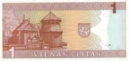 LITHUANIA P. 53a 1 L 1994 UNC - Lithuania
