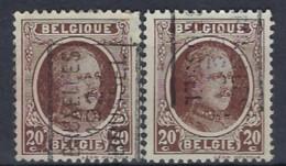 HOUYOUX Nr. 196 Voorafgestempeld Nr. 4333 A + B BRUXELLES 1928 BRUSSEL ; Staat Zie Scan ! - Rolstempels 1930-..