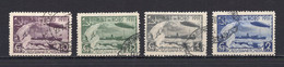 1931. RUSSIA,SOVIET,USSR,GRAF ZEPPELIN,PERF,4 STAMPS,USED - Used Stamps