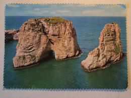 CPA Liban Beirut Pigeon Rock - Libanon