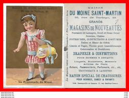 """CHROMOS. Magasin De Nouveautés """"Au Moine Saint-Martin"""" (Paris) La Promenade De Minet...S2691 - Other"""