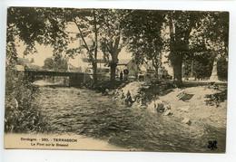 Terrasson Le Pont Sur Le Brasset 'laveuses) - Other Municipalities
