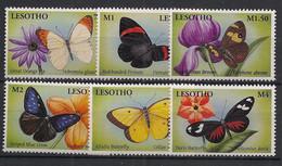 Lesotho - 2001 - N°Yv. 1665 à 1670 - Papillons / Butterflies - Neuf Luxe ** / MNH / Postfrisch - Schmetterlinge