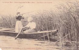 Sainte-Opportune La Mare - La Chasse Au Canards - Femme Au Fusil - Autres Communes