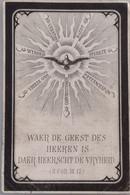 Joannes Baptista De Heldt-willebroeck 1791-1884 -smoezelig - Devotion Images