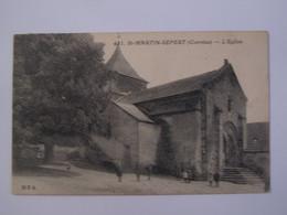 ST MARTIN SEPERT, L'église - Other Municipalities