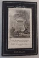 Joannes Baptista De Heldt-willebroeck 1837-1876-smoezelig - Devotion Images