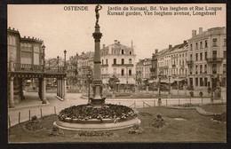 Ostende - Jardin Du Kursaal, Bd. Van Iseghem Et Rue Longue - Voir Scans - Oostende