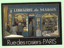 S959 - PARIS - Judaisme - Judaica - Paris - Rue Des Rosiers - Pletzel - Librairie Du Marais -   Photo : Alain Chartier - Jewish