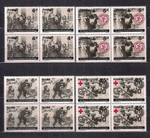 POLAND 1984 - 40th ANNIVERSARY Of THE WARSAW UPRISING BLOCK Of 4 MNH - Unused Stamps