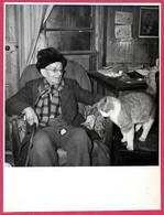 PHOTO Photographie De Presse : Paul LEAUTAUD Ecrivain Et Son Chat (a Priori à 92 FONTENAY-aux-ROSES) 1872 - 1956 - Famous People