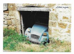 CPM Publicité Tabac  Cigarettes Gauloises Blondes Liberté Toujours Avec Voiture Citroën  2CV - Ed Boomerang - Publicité