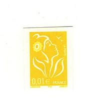 Lamouche 0.01 € YT 3731b Type II Non Dentelé Accidentel Sans Phospho . Rare , Voir Le Scan . Maury N° 3713 IId : 130 € - Abarten: 2000-09 Ungebraucht