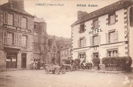 22 Corlay Hotel Adam Avec Automobiles (Carte Vierge) - Altri Comuni