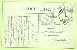 """Kaart DINARD Verzonden Van """"Hopital N° 63 Complementaire Dinard """" Stempel PMB Op 9/10/15 (3542) - Esercito Belga"""