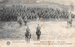 Ieper Ypres Guerre 1914 Cavalerie Anglaise - Ieper