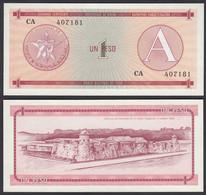 Kuba - Cuba 1 Peso Foreign Exchange Certificates 1985 Pick FX1 UNC (1)  (26799 - Other - America