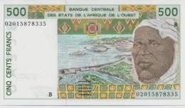 WEST AFRICAN STATES P. 210Bn 500 F 2002 UNC - Benin
