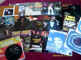 Collection De 18  / 45  Tours Differents DE TOM JONES - Collezioni