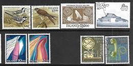 Iceland 1986 8 Diff Used 2016 Scott Value $14.25 - Gebruikt