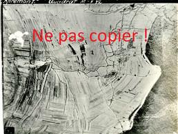PHOTO AERIENNE ALLEMANDE DES TRANCHEES DE APREMONT ( LA FORET ) PRES SAINT MIHIEL MEUSE - GUERRE 1914 1918 - 1914-18