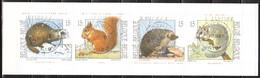 B23  Petits Mammifères - Bonne Valeur - Oblit. Centrales - LOOK!!!! - Carnets 1953-....