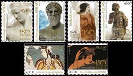 Grèce Hellas 2844/49 Archéologie, Histoire, Antiquité, Art, Sculpture - Archaeology