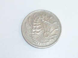 Vintage ! 1 Pc. Of Singapore Brunei Sea Horse 10 Cents Used Coin 1967-84 - Singapore