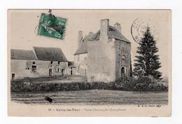 58 NIEVRE - CERCY LA TOUR Vieux Château De Champlevois - Altri Comuni