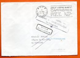 59 HELLEMMES CARRIERES P.T.T.    1974 Lettre Entière N° RR 509 - Mechanical Postmarks (Advertisement)