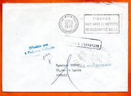 59 LILLE FGNOSS 1975 Lettre Entière N° RR 514 - Mechanical Postmarks (Advertisement)