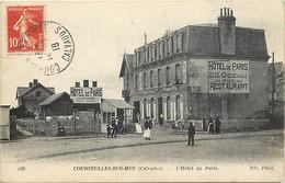 -dpts Div-ref-AW873- Calvados - Courseulles Sur Mer - L Hotel De Paris - Hotels - - Courseulles-sur-Mer