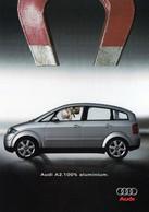 CPM - M - AUTOMOBILE - AUDI A2 - 100% ALUMINIUM - Turismo