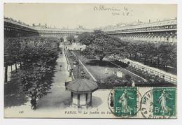 FRANCE SEMEUSE 5C PAIRE AVEC MILLESIME 4 AU RECTO CARTE PARIS 15.4.1915 - 1906-38 Sower - Cameo
