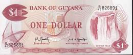 Guyana $1 B/40 826891 Unc - Guyana