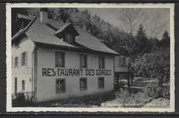 Carte P De 1939 ( Bienne /  Restaurant Taubenloch & Des Gorges ) - BE Berne
