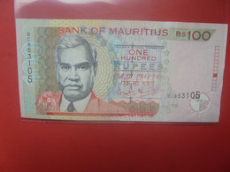 MAURICE 100 RUPEES 1999- 2001 Circuler (B.24) - Mauritius