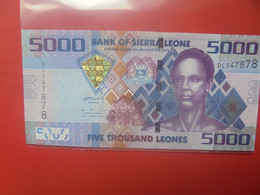 SIERRA LEONE 5000 LEONES 2010 Peu Circuler BELLE QUALITE (B.24) - Sierra Leone