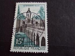 """1950-59 - Oblitéré N°   1106   """"     Le Quesnoy  """"    """" Menton, 06  """"      - Net   0..70  - Photo   3 - Usados"""