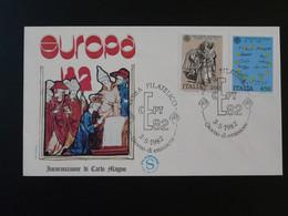 FDC Europa 1982 Carlo Magno Medieval History Italie Italia Ref 828 - F.D.C.