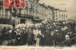 Le Tarn  CASTRES  Marché à La Volaille  Labouche  RV - Castres