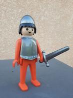 Figurine Playmobil Chevalier 24cm Leblon-Delienne En Résine Numérotée - Playmobil