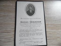 Faire Part Décès Avec Photo Né à Aubencheul Au Bac Décédée à COUILLY SAINT GERMAIN - Obituary Notices