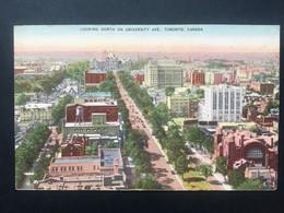 CANADA - Toronto - Looking North On University Ave. - 1949 - Toronto