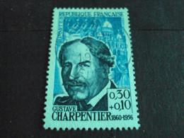 "1960-69 - Oblitéré N°   1348   ""   G. Charpentier      ""      - Net   2 - Usados"
