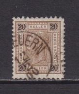 AUSTRIA  -  1899-1902 20h Used As Scan - Usati