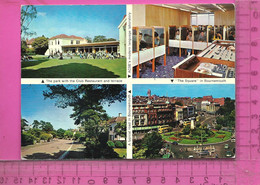 CPM  ROYAUME UNI, ANGLETERRE, DORSET, BOURNEMOUTH : Anglo Continental School Of English, 4 Vues - Bournemouth (desde 1972)