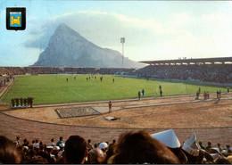 !  Ansichtskarte 1972 , Vor Gibraltar, La Linea, Caditz, Fußball Stadion, Campo De Futbol - Stadi