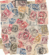 130 TIMBRES EMISION GROSSE BARBE - 1905 Grove Baard